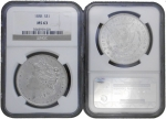 1888-P Morgan Silver Dollar S$1 NGC MS63