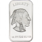 Buffalo 1oz Silver Bar (.999 pure)