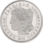 2015 Morgan Dollar Replica 1 oz Silver (.999 pure)